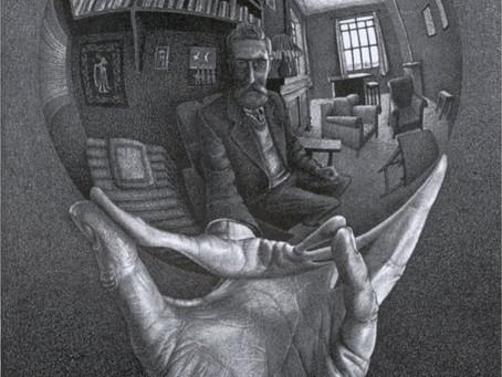 M. C. Escher and the Chand Baori stepwell in India.