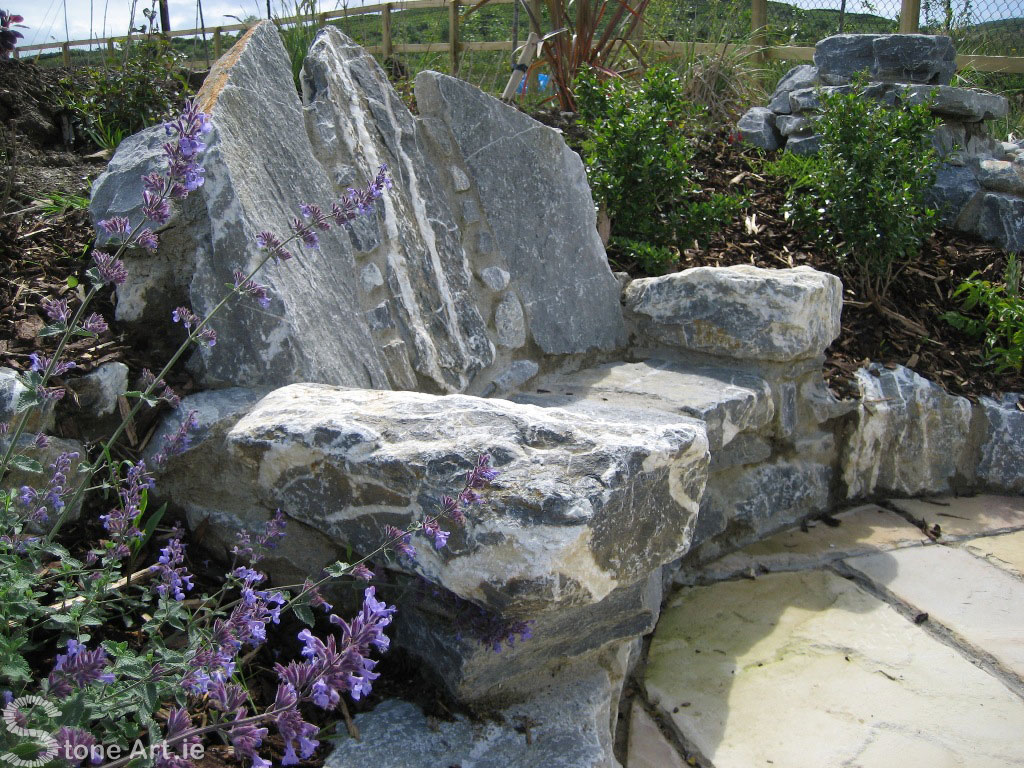 O' Donavan's Seat Limestone Bench