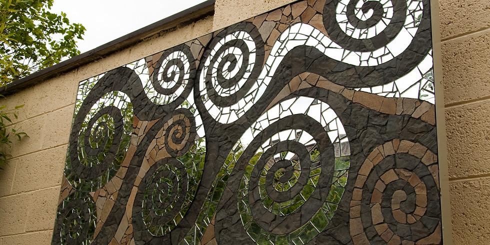 Mosaic Art for Garden Design