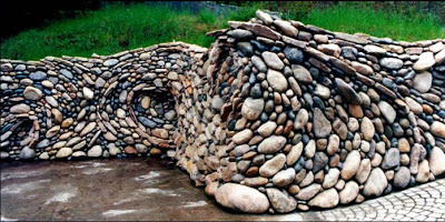 The amazing flowing stonework of Michael Eckerman