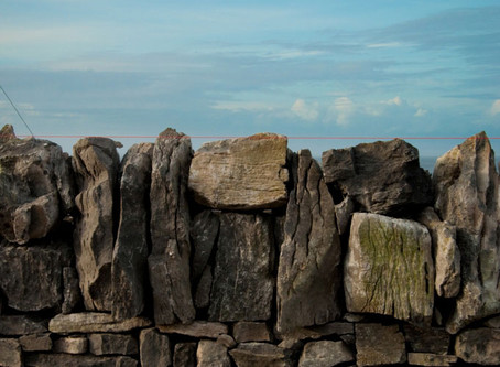 Drystone Walling on Inis Oírr Island