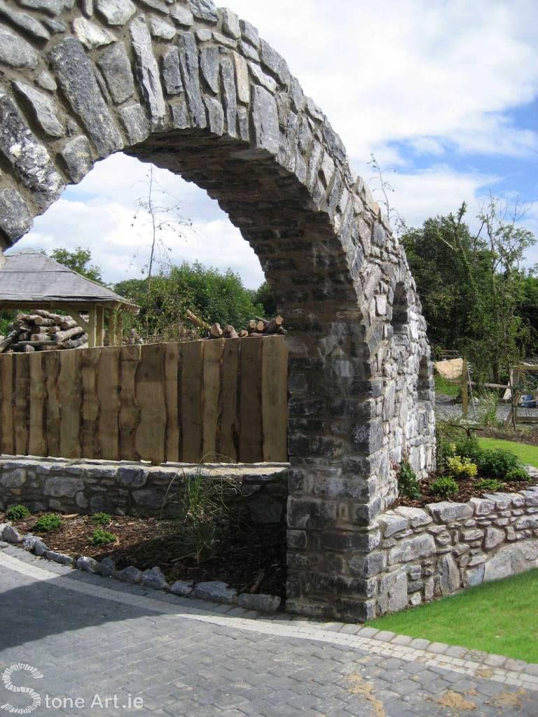 11ft Limestone  Arch