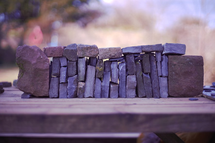 wedged wall by Ken