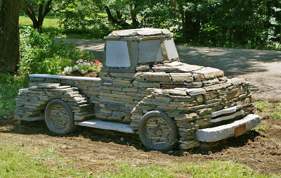 Chris Millers Stone Truck Project