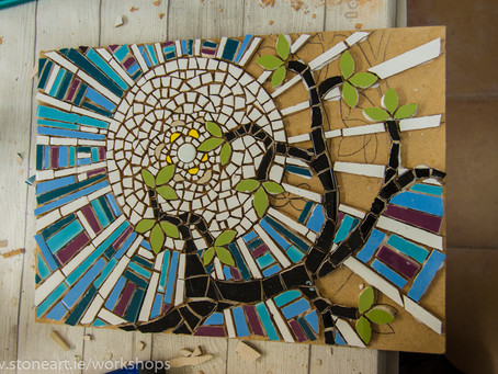 February Weekend Mosaic Workshop. Co. Cork