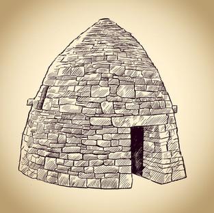 Aidan Cooney. Behive hut at Drimnagh Cas