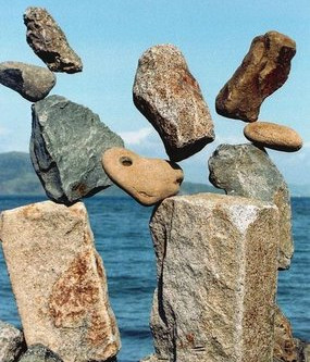 The art of Stone Balancing
