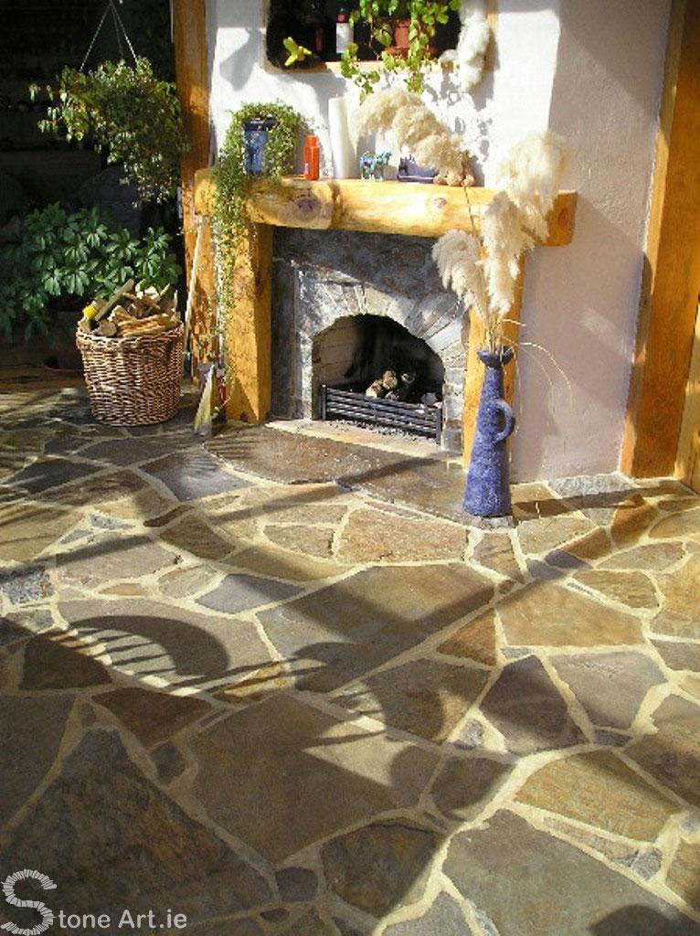 Kealkill sandstone fireplace