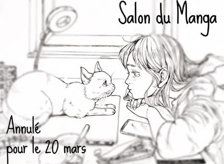 Salon du manga / Annulé le  20 mars!