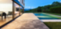 swimming pool & house