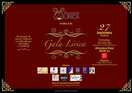 Gala Lírica