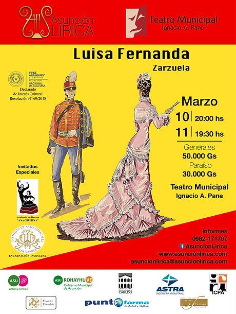 Zarzuela Luisa Fernanda