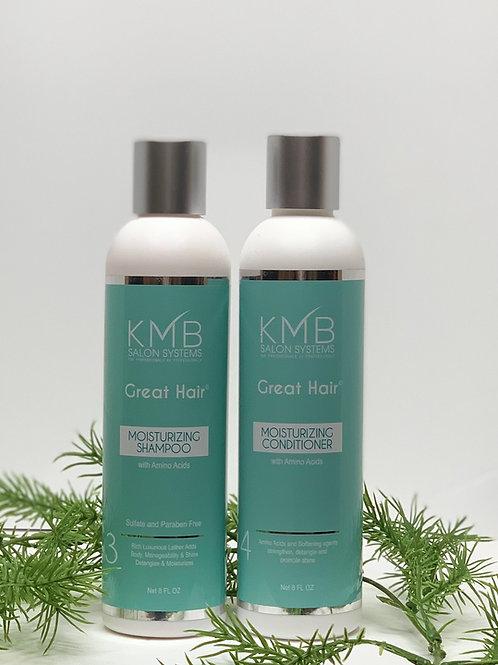 Great Hair Amino Acid Moisturizing Combo