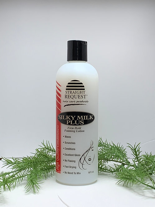 Straight Request Firm Hold Foaming Lotion