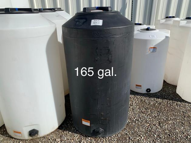165 GAL. WATER STORAGE
