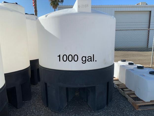 1000 GAL. CONE BOTTOM