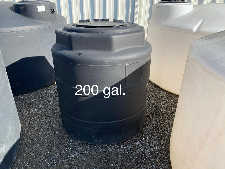200 GAL. WATER STORAGE