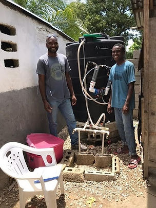 water purifier in Haiti