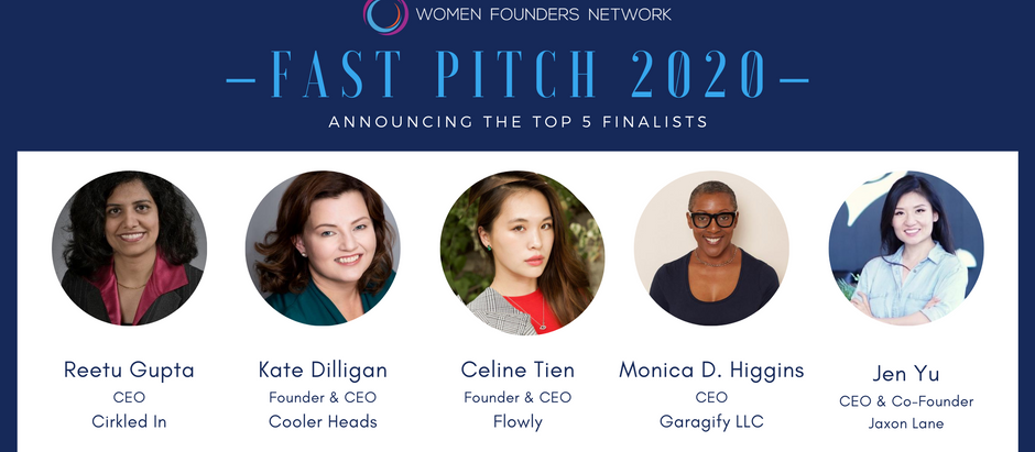 WFN Announces 5 Finalists for $30K in Cash and $50K in Services at 8th Annual Fast Pitch Competition