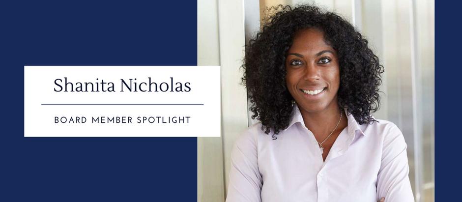 Board Spotlight: Shanita Nicholas