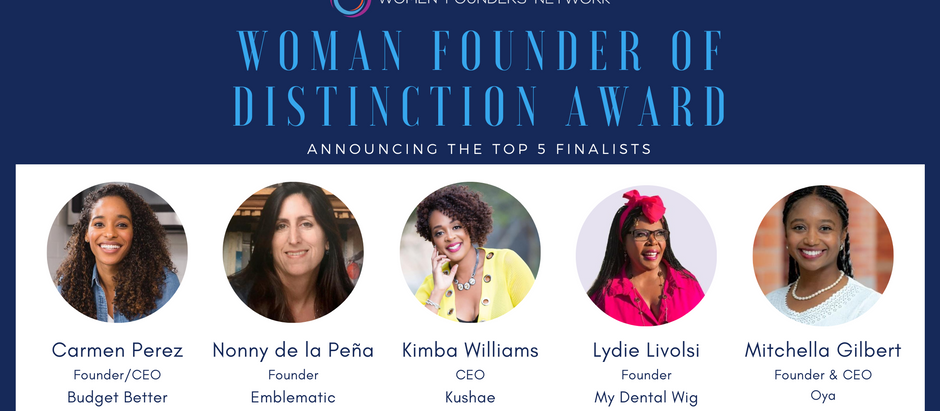 WFN Announces New Female Founder Mentoring Award, Exclusively for Black & Latina Entrepreneurs