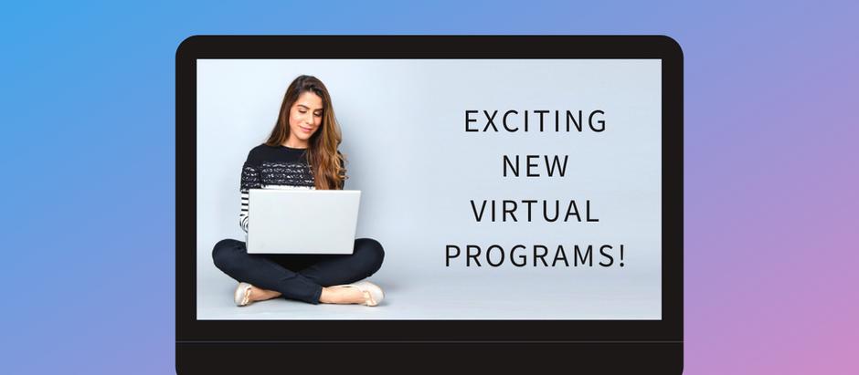 New WFN 2020 Programs!