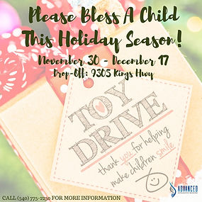 Copy of Copy of Headers Food & Toy Drive