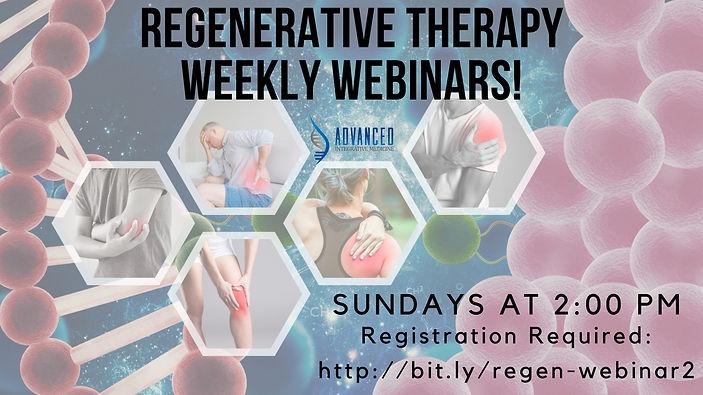 Copy of Cellular Regenerative Therapies