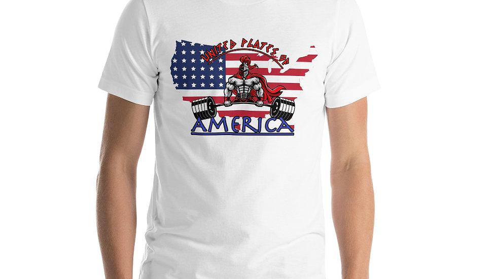 United Plates of America Short-Sleeve Unisex T-Shirt