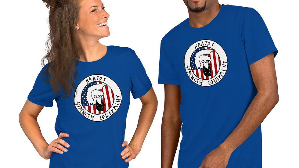 American Kratos Short-Sleeve Unisex T-Shirt