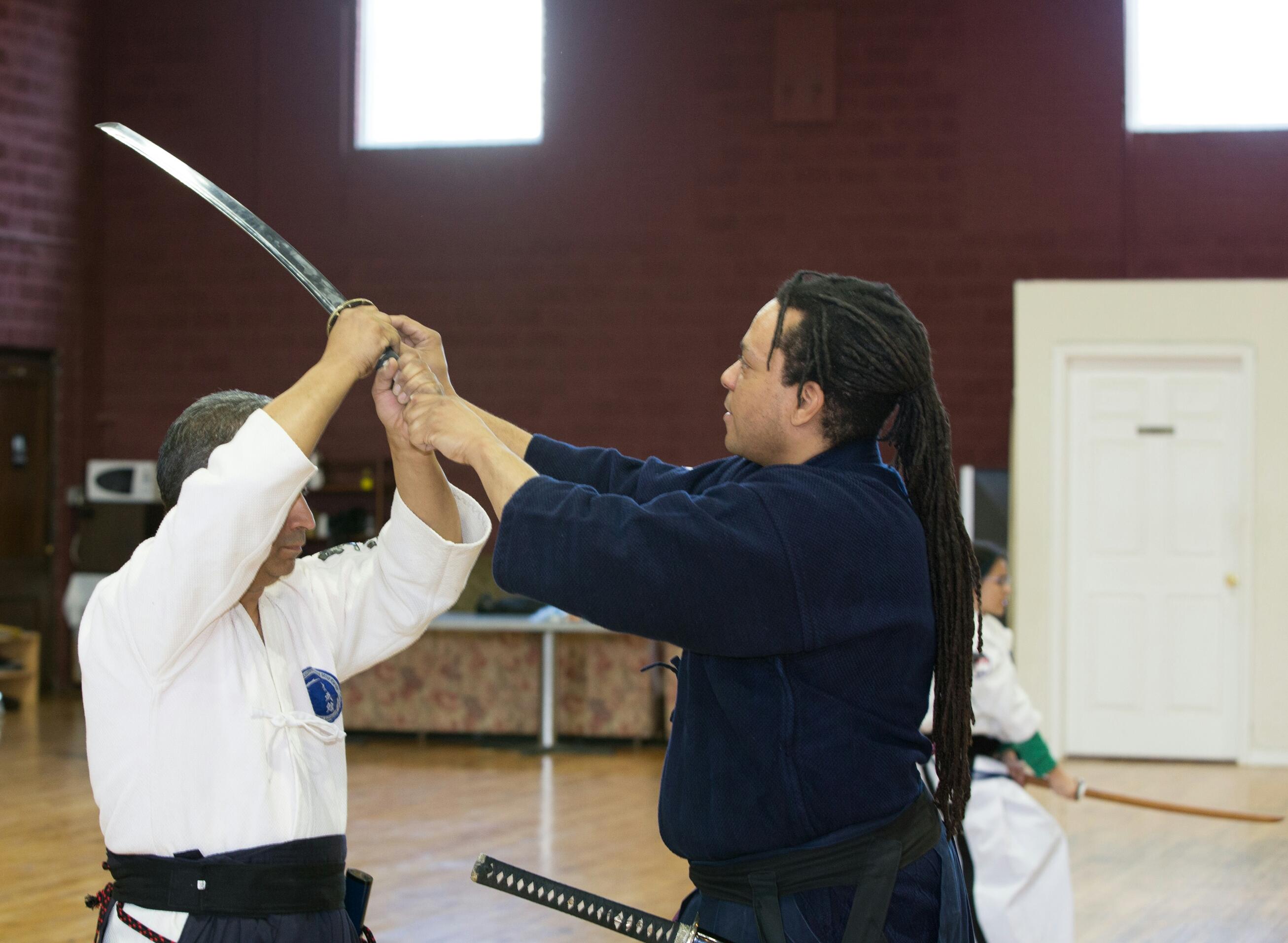 Teaching at Perception Sword Academy 1