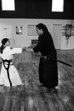 Teaching at Perception Sword Academy 3