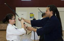 Teaching at Perception Sword Academy 4