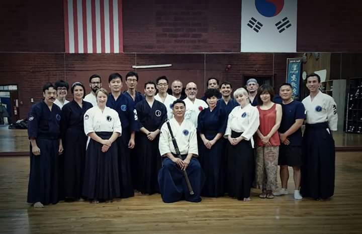 Sword Family with Grand Master Seong