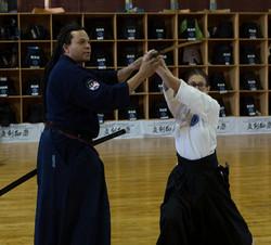 Teaching at Perception Sword Academy 2