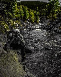 taking photo in brek