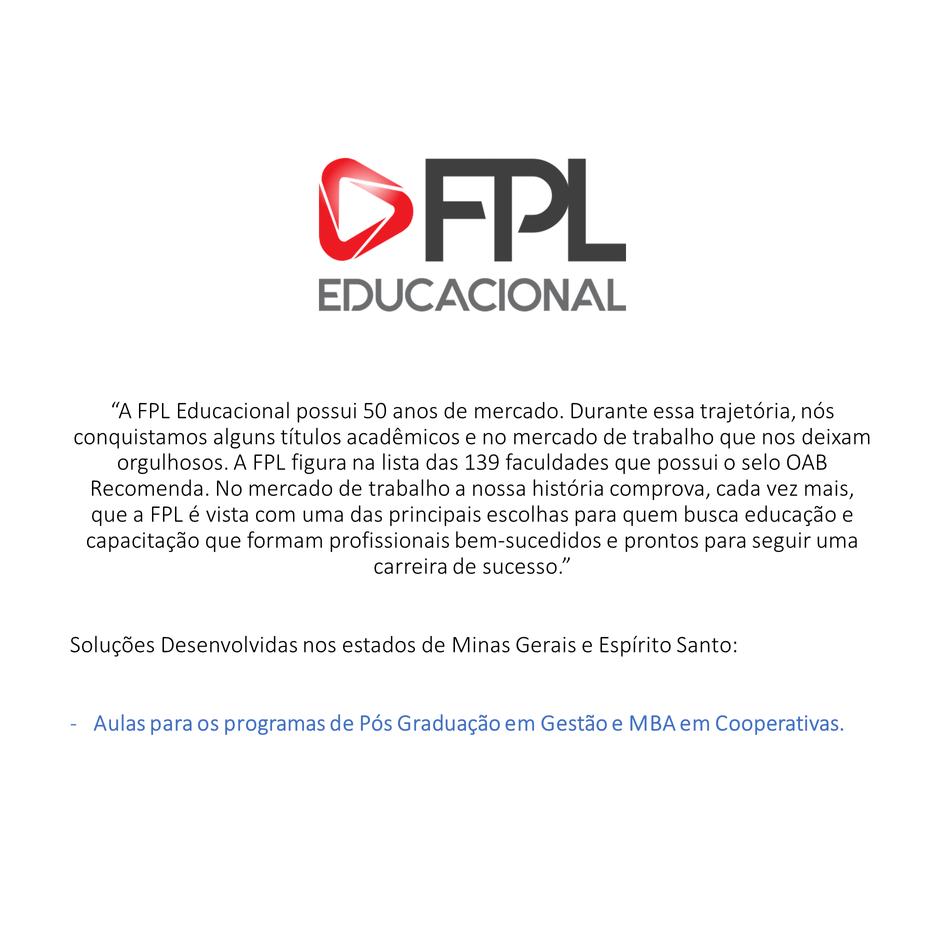 FPL Fundação Pedro Leopoldo