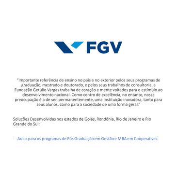 FGV Fundação Getúlio Vargas
