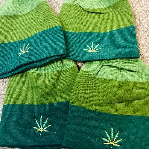 Ixchel Cannabis Leaf beanie