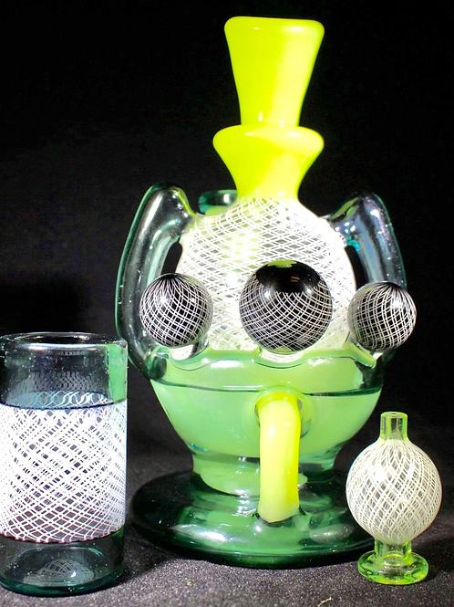Daveman Egg in a Basket Recycler Set