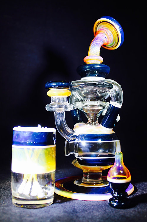 Coojo Amber Purple double uptake recycler set
