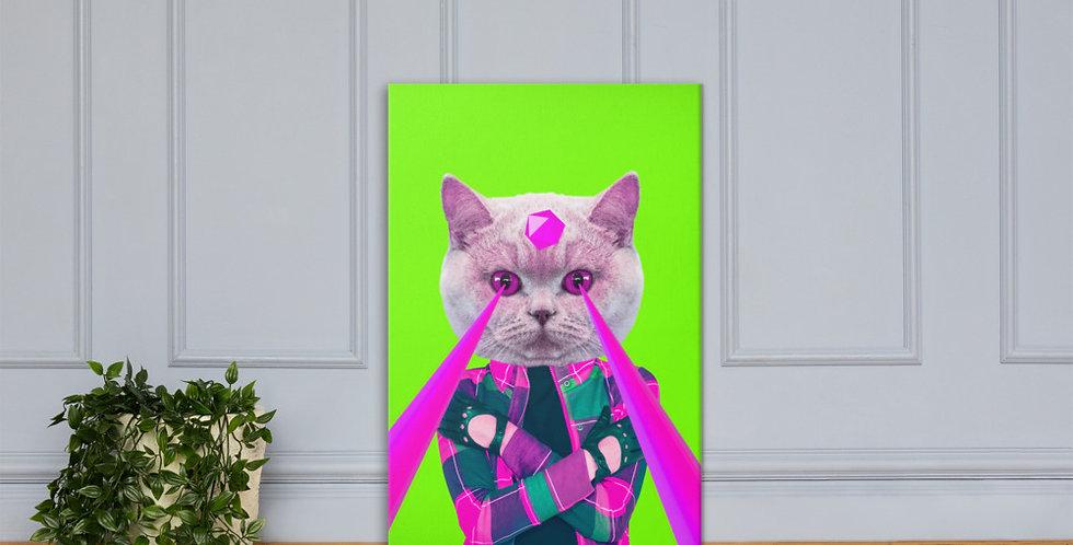 "Canvas: ""Power cat"""