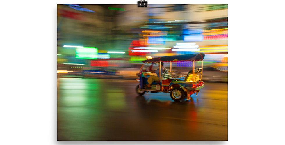 Poster: Tuk Tuk Thailand
