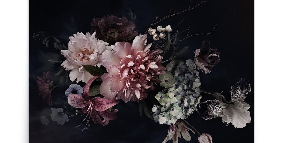 Poster: Vintage flowers