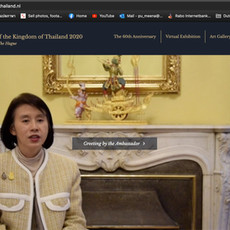 Web Design - Thailand National Day