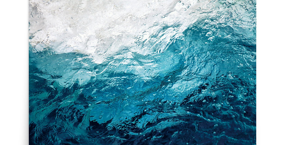 Poster: An abstract background of the sea