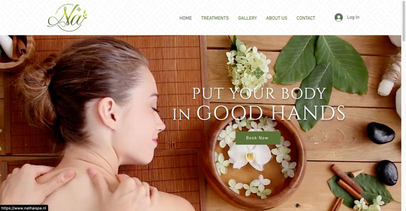 Web Design - Beauty Salon & Spa