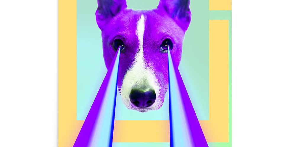 "Poster: ""Power dog"""