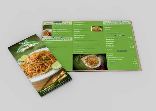 Menu - Thai Restaurant