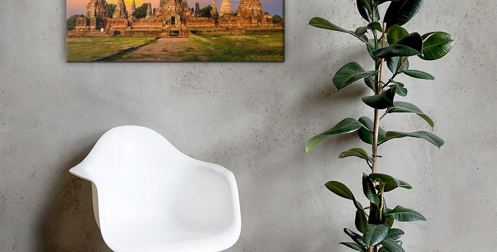 Canvas: Ayutthaya Thailand